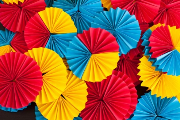 Background Rosetas de colores