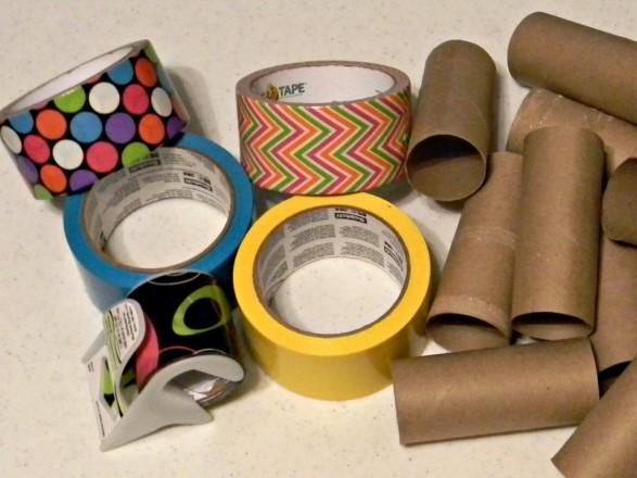 Organizador de Cables Materiales