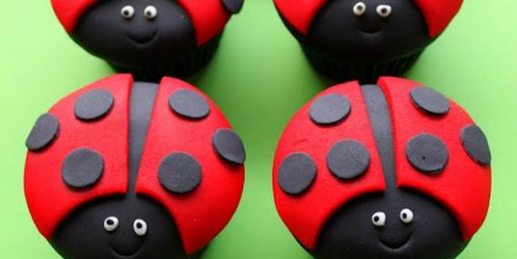 Cupcakes Vaquitas de san Antonio