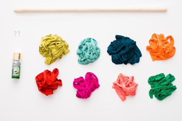 serpentina de colores materiales