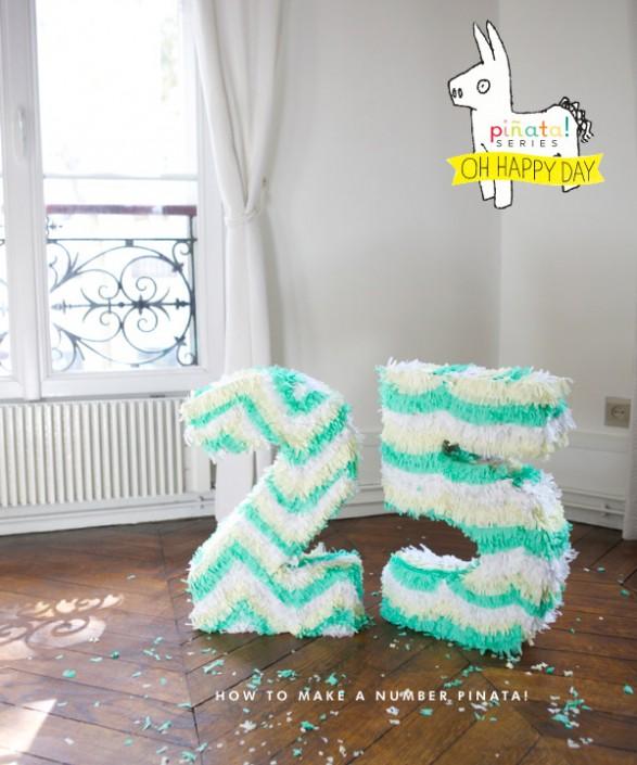 Piñata Número
