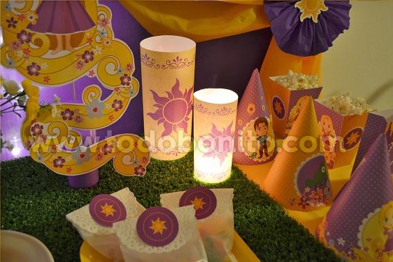 Kits imprimible de Rapunzel