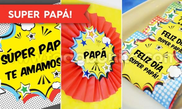Diseños imprimibles dia del padre