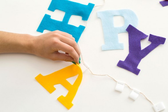 Tutorial letras de felpa