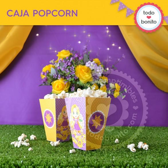Caja Popcorn Kit Rapunzel