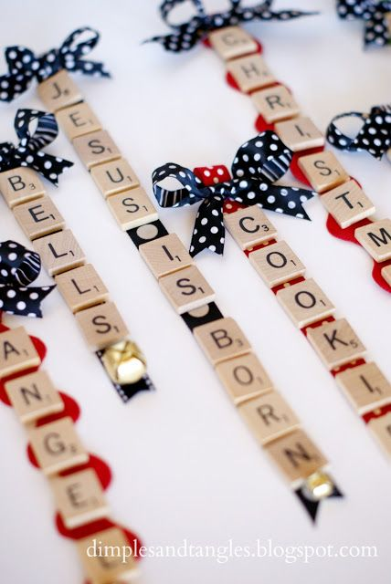Ideas con Scrabble - Deco