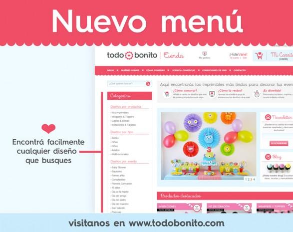 Tienda online Todo Bonito