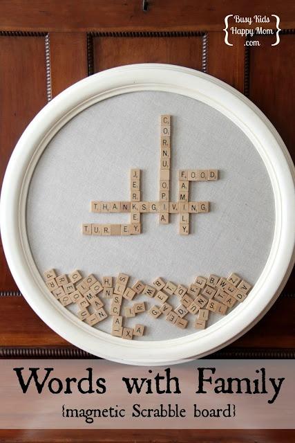Ideas con Scrabble - Pizarra magnética