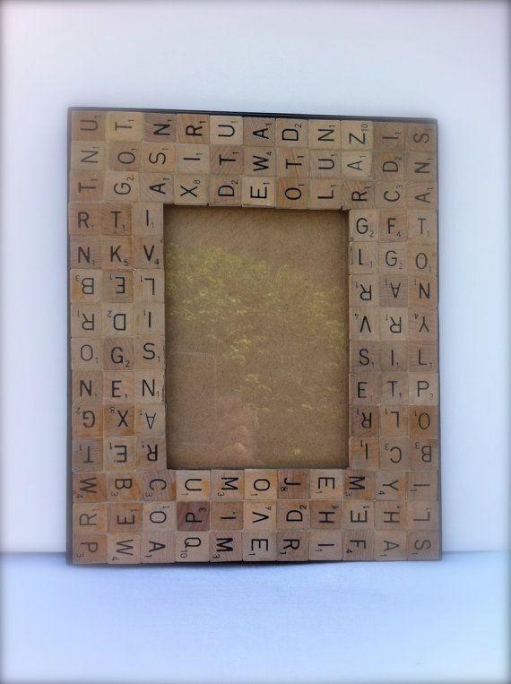 Ideas con Scrabble - portaretrato