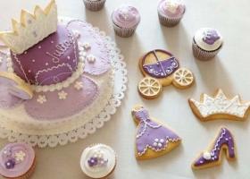 Tortas bonitas de Princesita Sofía