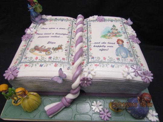 Bonitas Tortas Temática Princesita Sofia