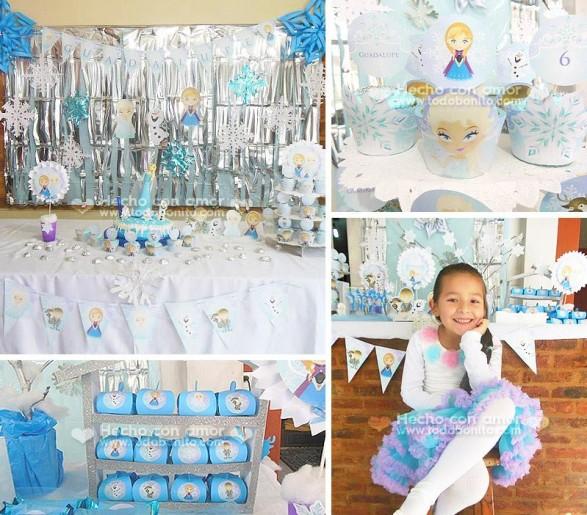 Carolina Kit Imprimible Frozen