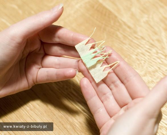 Flores de papel crepé