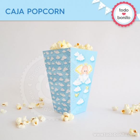 Cajita PopCorn Angelito Bebé
