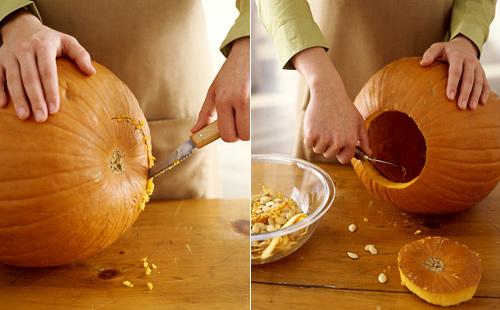 Calabaza de halloween - Como hacer calabazas de halloween ...