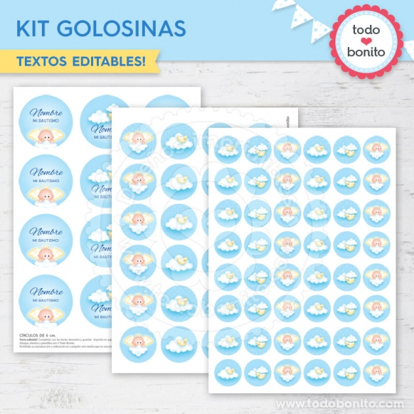 Kit de Golosinas Angelito Bebé