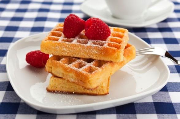 Waffles para mamá