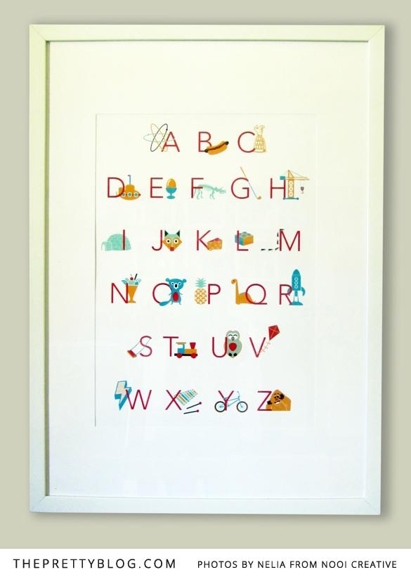 Lamina alfabeto 2