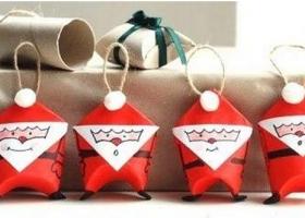 Papá Noel (Santa) con tubitos