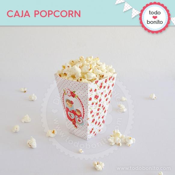 Caja Pop Corn Mamushkas