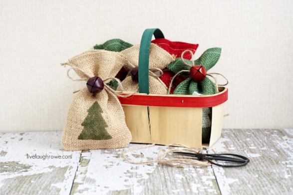 Tiernas bolsitas navideñas