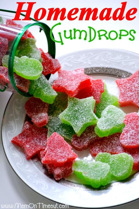 Dulces gomitas navideñas