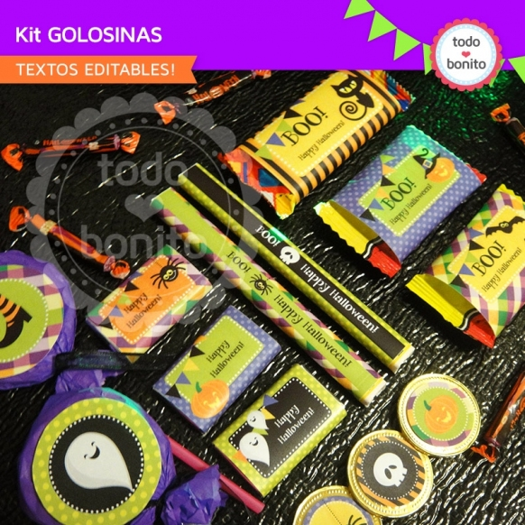 Kit Golosinas halloween