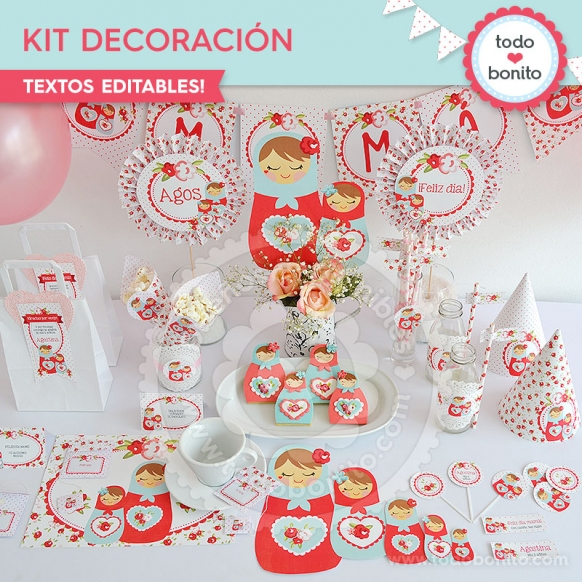 Kit de decoración Mamushkas