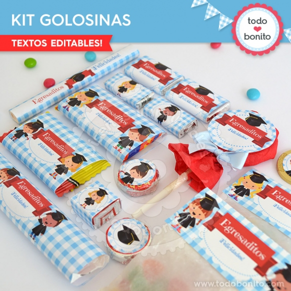Kit golosinas egresaditos