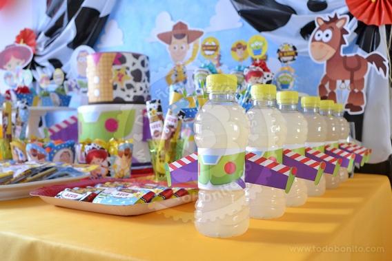 Kits imprimibles de Toy Story por Todo Bonito