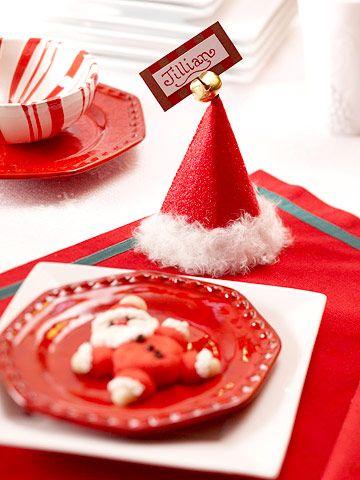 Ideas Mesa navideña infantil