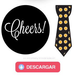 Cheers y corbata