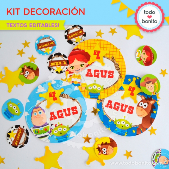 Kit de Decoración Toy Story