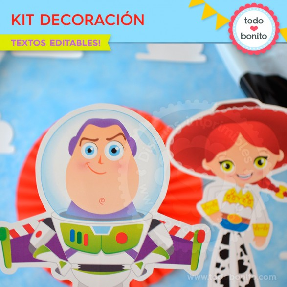 Kit de Decoración Toy Story