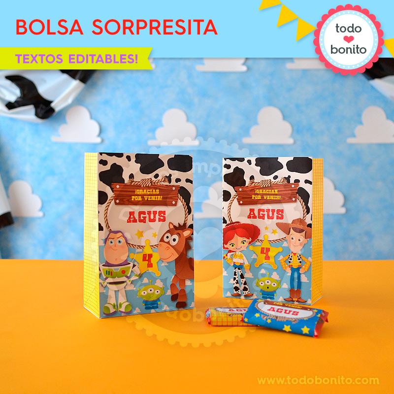 Bolsa Sorpresita Toy Story Todo Bonito