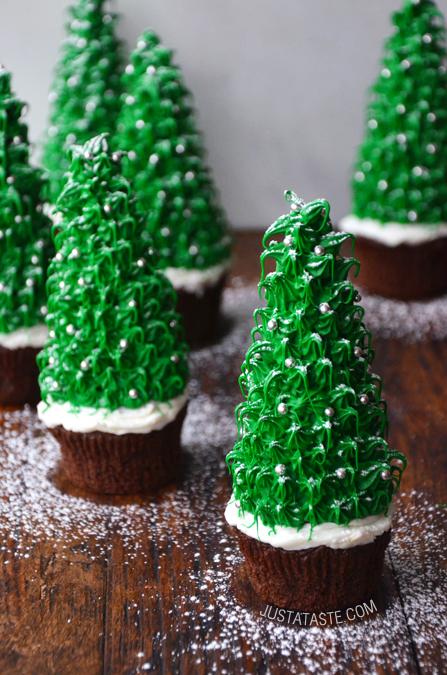 Cupcakes Arbolito Navidad
