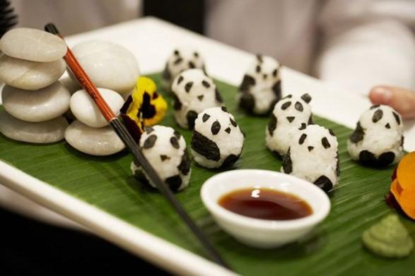 Sushi con pandas