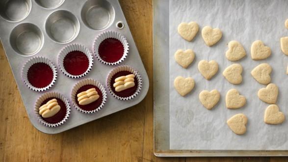 Cupcakes con centro de corazón 02