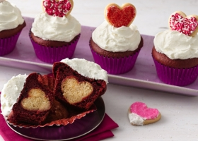 Cupcakes para románticas...