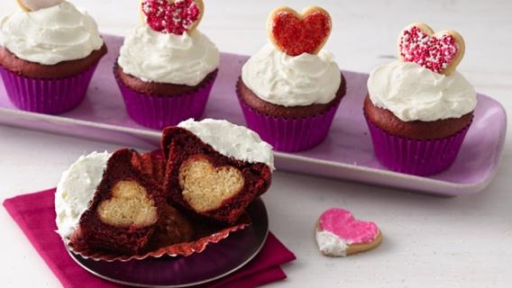 Cupcakes para románticas…