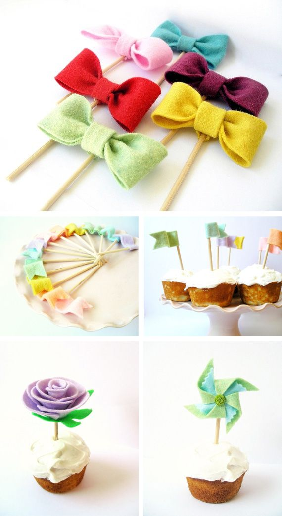 Ideas creativas con fieltro todo bonito - Ideas de decoracion originales ...