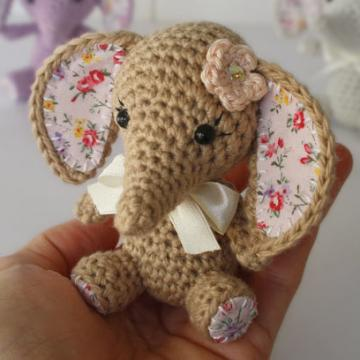 Elefantita Amigurumis