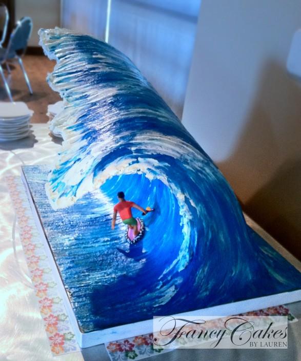 Ola y Surfer