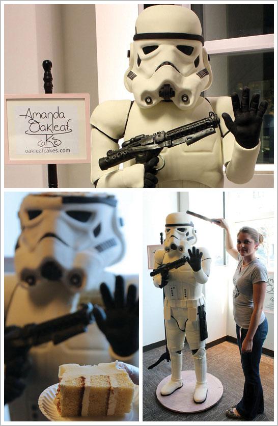 Torta 3D Star Wars 1