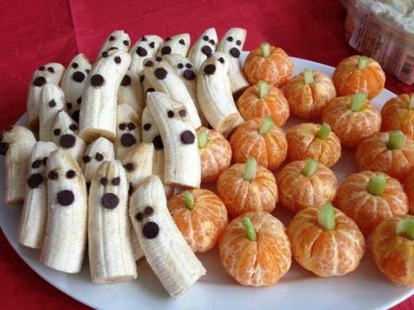 fruta ideal hallowen