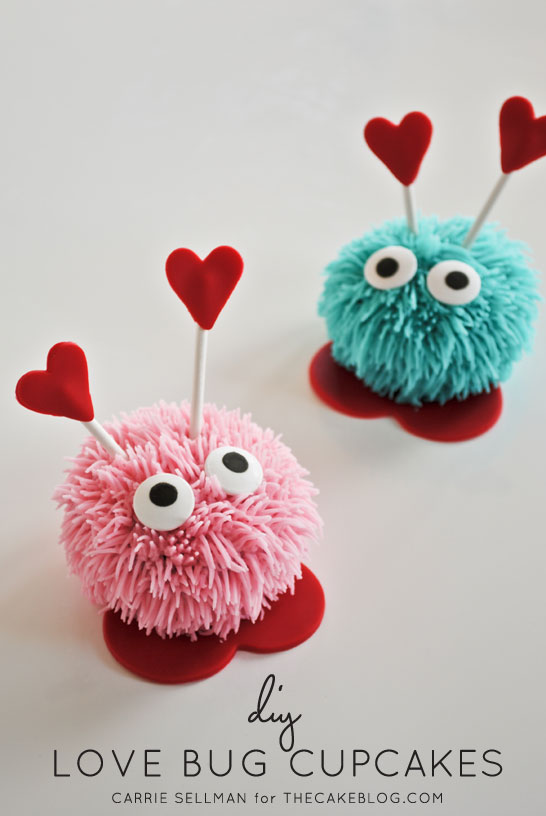 love_bug_cupcake_diy