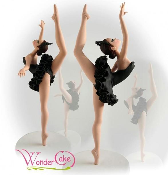 Bailarina cisne negro