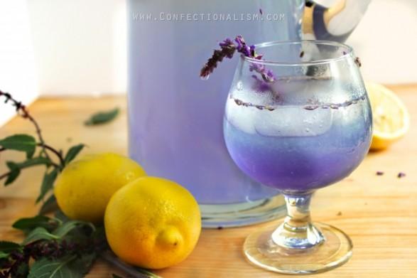 Limonada de coco y lavanda copa