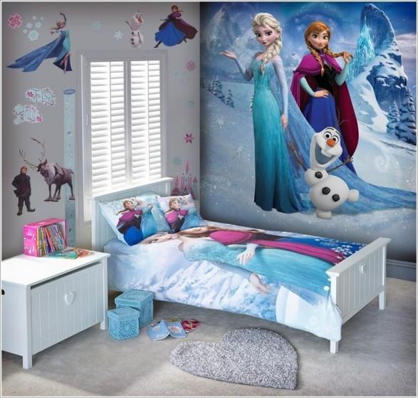 habitaciones inspiradas en frozen todo bonito