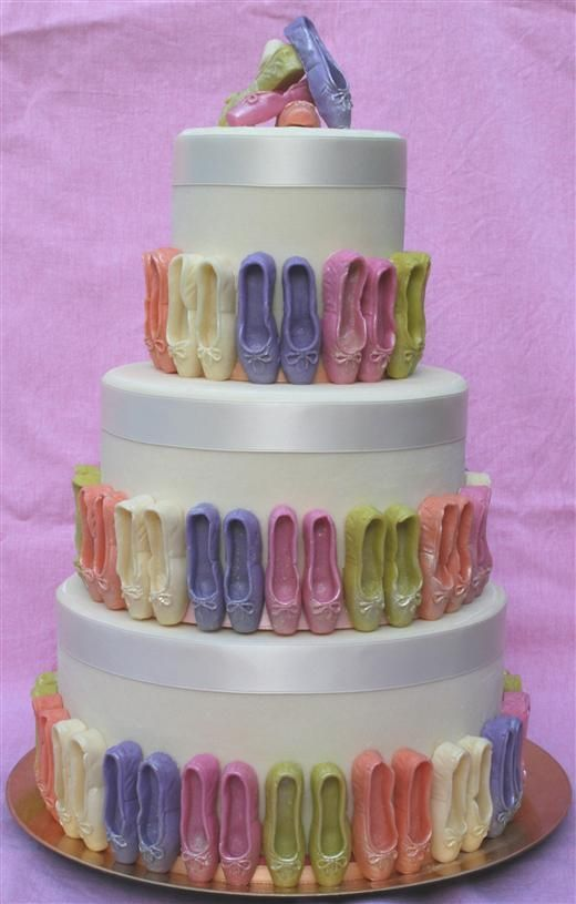 Zapatillas de ballet coloridas